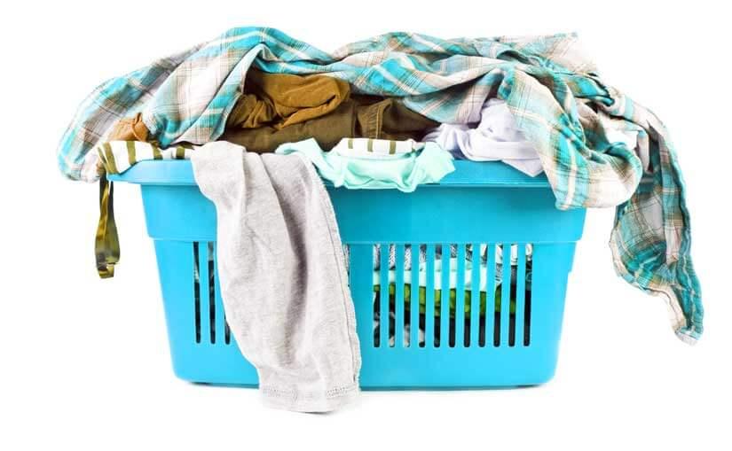 Basket of laundry