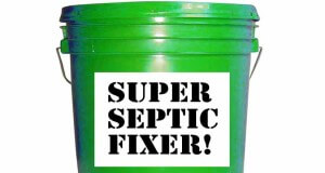 Typical septic treatment
